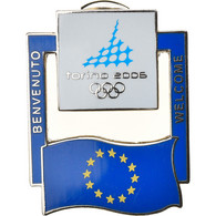 Italie, Médaille, Pin's, JO Torino, Sports & Leisure, 2006, FDC, Métal - Altri