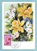 Carte Maximum 1967 - Floralies Orléans 1967 -  YT 1528 - 45 Orléans - 1960-69