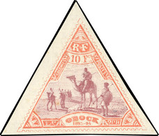 * 5 Valeurs. Timbres Triangulaires. SUP. - Non Classés