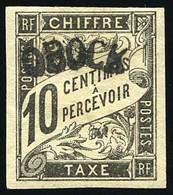* Timbres-Taxe - 10c. Noir. TB. - Non Classés