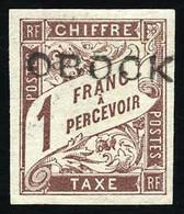 * Timbres-Taxe - 1F. Marron. TB. - Non Classés