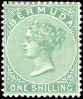 * 1sh. Green. VF. - Bermuda