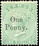 * 2 Values. VF. - Bermuda