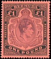 * 118e + 119e + 120e + 121c. 6 Values. Ordinary Paper. SUP. - Bermuda