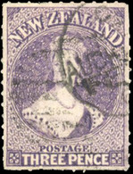 O 3p. Brown-lilac. Perf. 16. VF. - Ohne Zuordnung