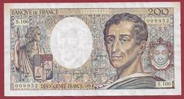 "200 Francs ""Montesquieu"" ---1992---ALPH-S.106----dans L 'état - 200 F 1981-1994 ''Montesquieu''"