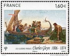 "France N° 5069 ** Peinture. Oeuvre De Charles Gleyre ""Les Illusions Perdues"" - Unused Stamps"