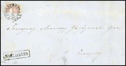 O 40p. Violet. COUPE En 2 Horizontalement. Obl. S/lettre Portant Le CàD De POZAREVAC Du 5 Novembre 1869. Griffe NAPLACEN - Serbia