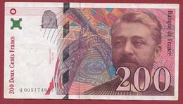 """200 Francs """"Eiffel"""" ---1996---ALPH-Q---N° 0051749069----dans L 'état - 200 F 1995-1999 ''Eiffel''"""