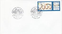 1 ER JANVIER 2000 à LOON PLAGE NORD - Cachets Commémoratifs