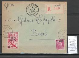 Reunion - Lettre  Recommandée - Salazie - 1950 - Storia Postale