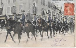 A/85       Militaria      Armée Allemande    - Hussards - Regimenten