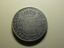 Philippines 20 Centimos 1883 Silver - Philippines