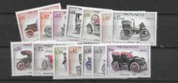 1961 MNH Monaco, Michel 673-86 Postfris** - Nuevos