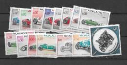 1967 MNH Monaco, Michel 848-62 Postfris** - Nuevos