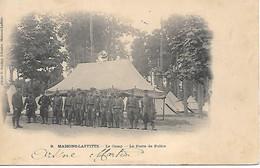 A/85       Militaria        Maisons-lafitte    Le Camp    Le Poste De Police - Barracks