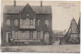 59 BUSIGNY (Après La Guerre 14/18)  La Mairie - Sonstige Gemeinden