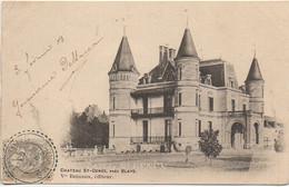 33 Château SAINT-GENES , Près Blaye - Other Municipalities