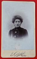 Photo CDV Petit Format GERSCHEL  REIMS - Old (before 1900)