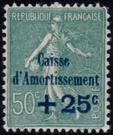 ✔️ France 1927 - Caisse D'Amortissement - Yv. 246 ** MNH - €15 - Depart 1,99 - Sinking Fund