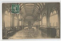 50 Manche Cherbourg Le Salon De La Gare Maritime 1914 Ed Pb - Cherbourg