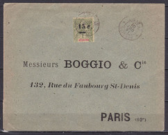 CF-RE-50 – FRENCH COLONIES – REUNION – 1901 – NICE COVER – Y&T # 55b - Covers & Documents