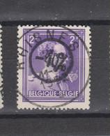 COB 724O Centraal Gestempeld Oblitération Centrale RHISNES Superbe - 1946 -10%