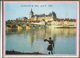 ALMANACH  PTT  1965  -  MUSEE  DE  LA  CHASSE  à  GIEN  ( LOIRET )  VOICI  LE  DEJEUNER - Big : 1961-70