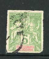 OCEANIE- Y&T N°14- Oblitéré Et Non Dentelé - Oblitérés