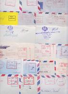 IRAN - Lot De 175 Enveloppes Affranchissement Machine Port Payé Stampless Air Mail Covers Postage Paid PP Cover Letter - Iran