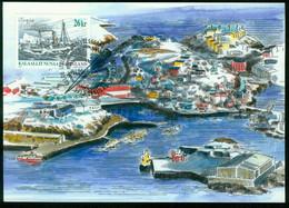 "Mk Greenland Maximum Card 2003 MiNr 410 | Ships. ""Sonja"" (whaling Steamer) - Maximum Cards"