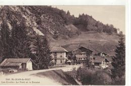 CPA   SAINT JEAN DE SIXT   Les Etroits - Le Pont Et La Douane  N° 3342 - Autres Communes
