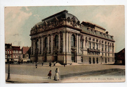 - CPA CALAIS (62) - Le Nouveau Théâtre 1909 - Editions Lévy 142 - - Calais