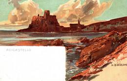 CPA H.B. WIELAND - Aci Castello, Catania - Panorama - NV - W003 - Other Illustrators