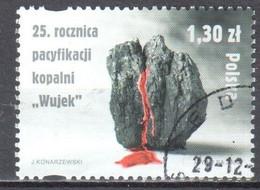 Poland 2006 - Pacification Of The Wujek Mine - Mi 4296 - Used - Usati