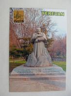 Armenia Yerevan Monument To Taras Shevchenko Modern PC - Armenia