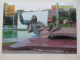 Armenia Yerevan Monument To Composer Arno Babajanyan Modern PC - Armenia