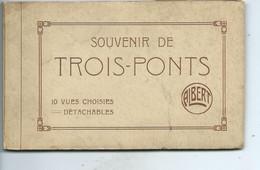Trois Ponts ( Carnet De 8 Cartes Sur Les 10 !!! ) - Trois-Ponts