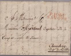 LAC - P.108.P / SAVONE - 25 NOV. 1808 - 1801-1848: Vorläufer XIX