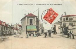 GENNEVILLIERS Rue Félicie Et Rue De La Procession - Gennevilliers