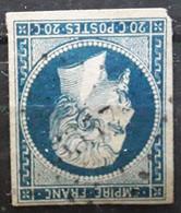 Empire No 14 A  Obl Pc 3357 De THOR , Vaucluse,  Indice 11 ,TB - 1853-1860 Napoleon III