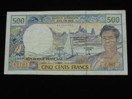 500 Francs  1992 - Institut D'émission D'Outre-mer   **** EN ACHAT IMMEDIAT **** - Französisch-Pazifik Gebiete (1992-...)