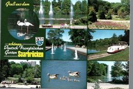AK85995    Saarbrücken - Deutsch Französischer Garten  - Mehrbild (8) - Saarbruecken