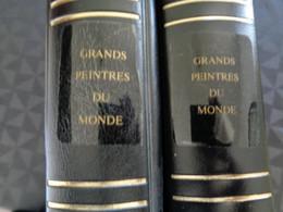2 ALBUMS :  48 PLANCHES AVEC TIMBRES ** GRANDS PEINTRES DU MONDE ( BONNE COTE ) - Collections (with Albums)