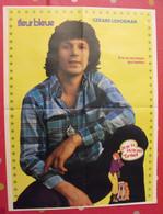 Poster Gérard Lenorman Et Crazy Horse. Vers 1974. Fleur Bleue - Posters