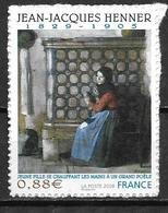 France 2008 Timbre Adhésif Neuf  N° 223 Peinture De JJ Henner Cote 8 Euros - Sellos Autoadhesivos
