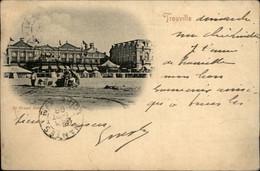 14 - TROUVILLE - Carte Nuage - Voyagé En 1898 - Trouville