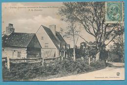 Une Des Premières Résidences De Ste-Anne-de-la-Pérade P.Q. - Circulé 1910 - Andere