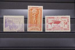 FRANCE - 3 Vignettes Des Expositions Philatéliques De Paris, 1900, 1913 Et 1925 - L 94469 - Rode Kruis