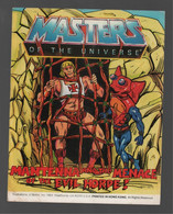 Mattel Masters Of The Universe Mini Comic Mantenna And The Menace Of The Evil Horde! 1984 - Other Publishers